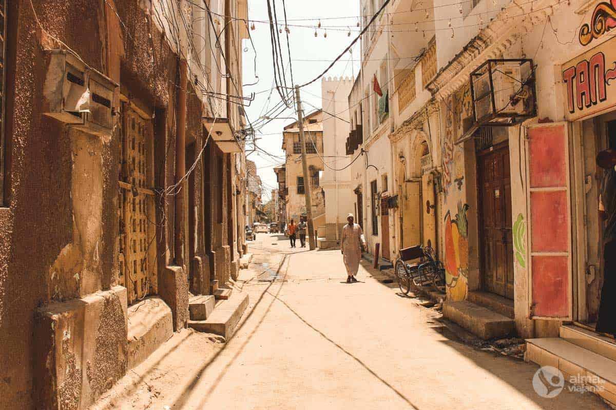 Rua de Mombaça, Quénia