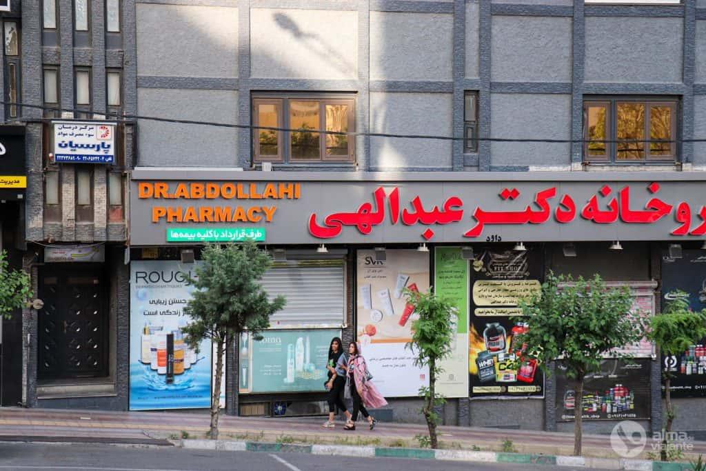 Viver em Teerão: rua da capital iraniana