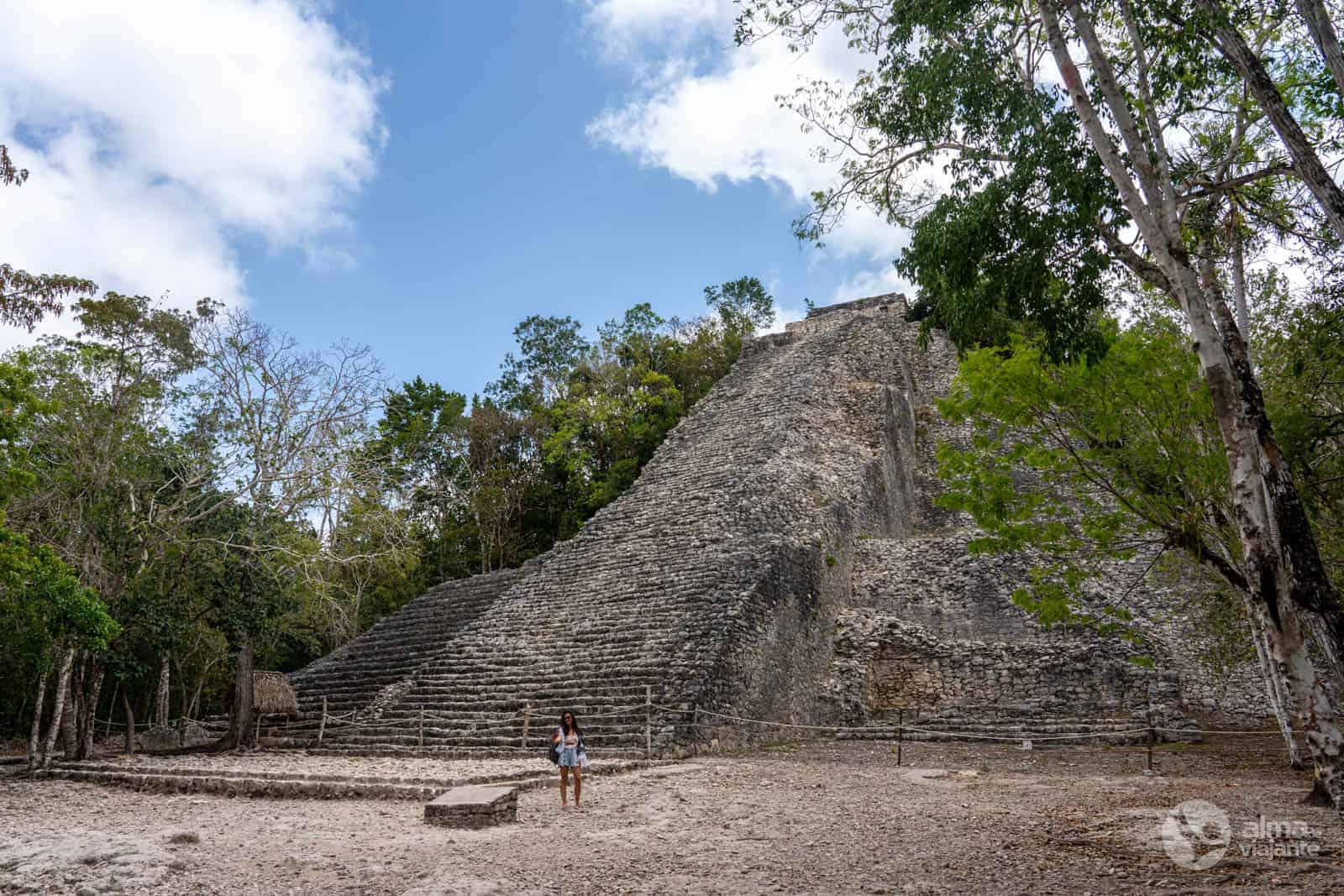Pirâmide Nohoch Mul, Cobá