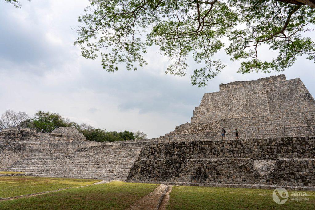 Ruínas de Edzná, estado de Campeche, México