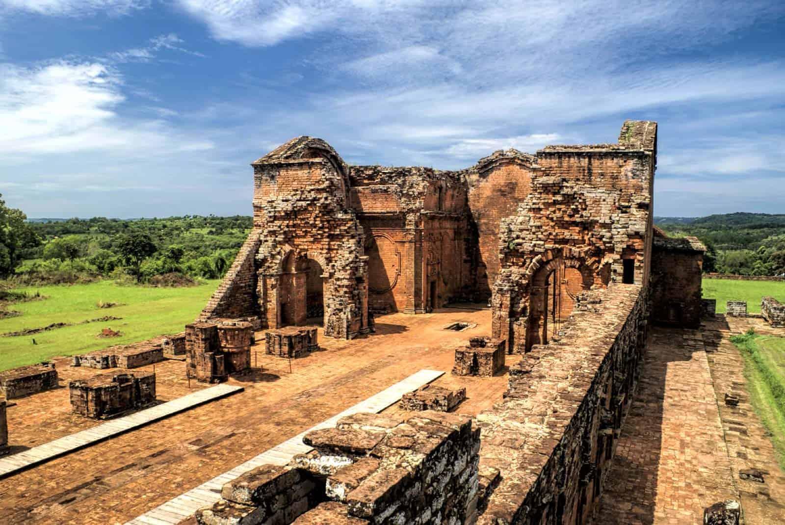 Jėzuitų griuvėsiai, Paragvajus