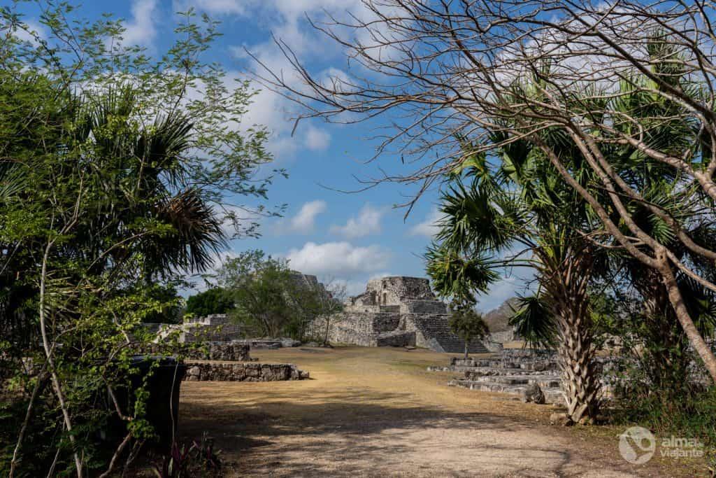 Ruínas de Mayapán, México