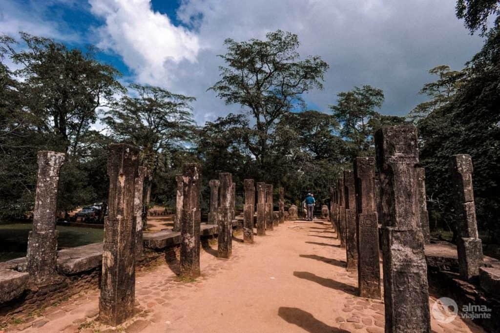 Visitar Polonnaruwa: Palácio Real