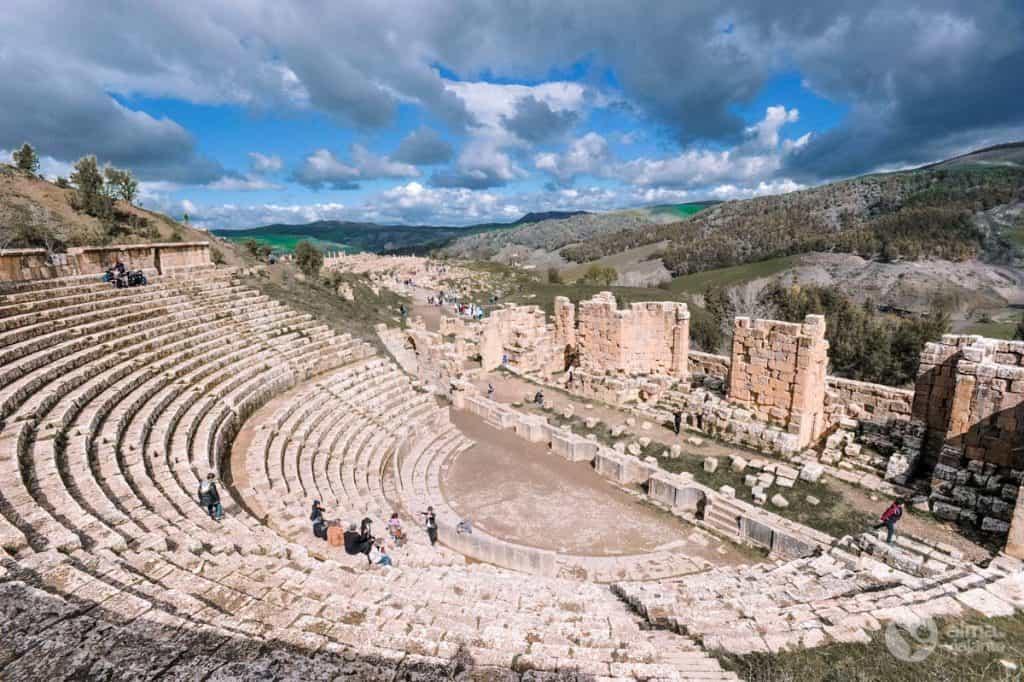 Teatro romano de Djémila