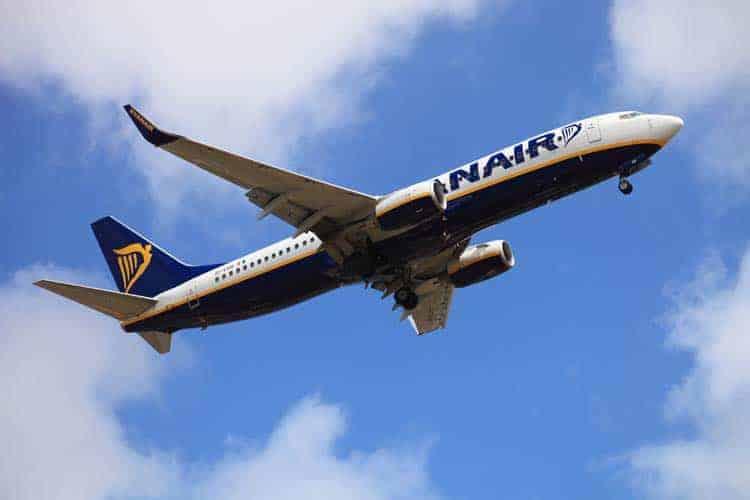 Avião da Ryanair