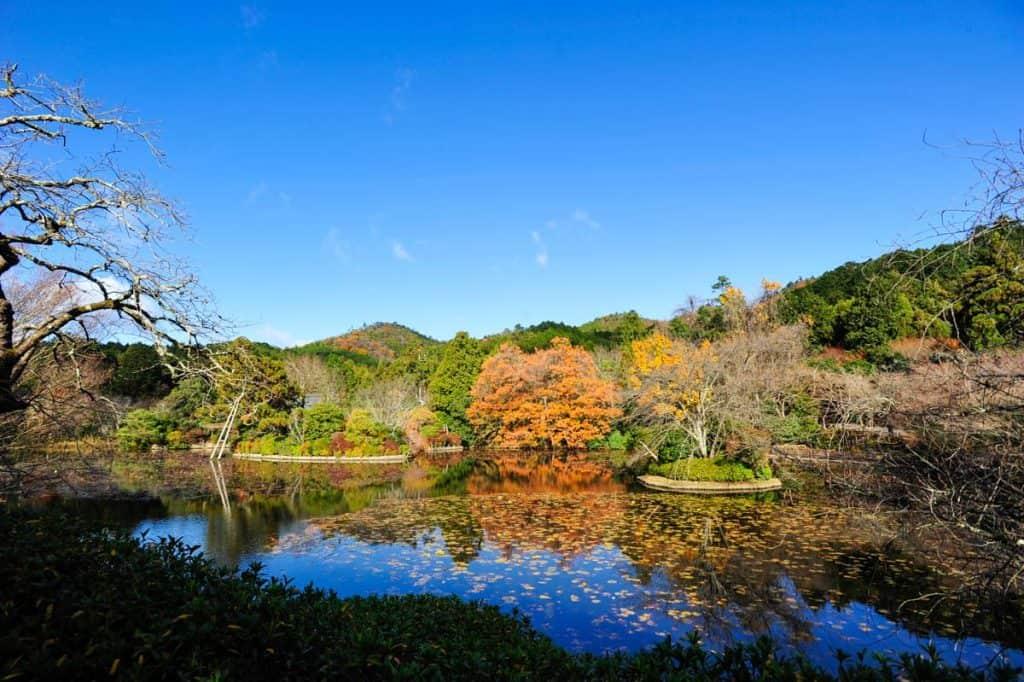 Lago do Templo Ryoan-ji, Kyoto