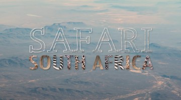 Safari na África do Sul – um timelapse