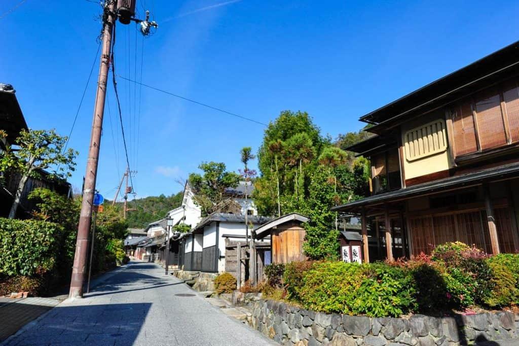 Saga Toriimoto gatvė, Arashiyama