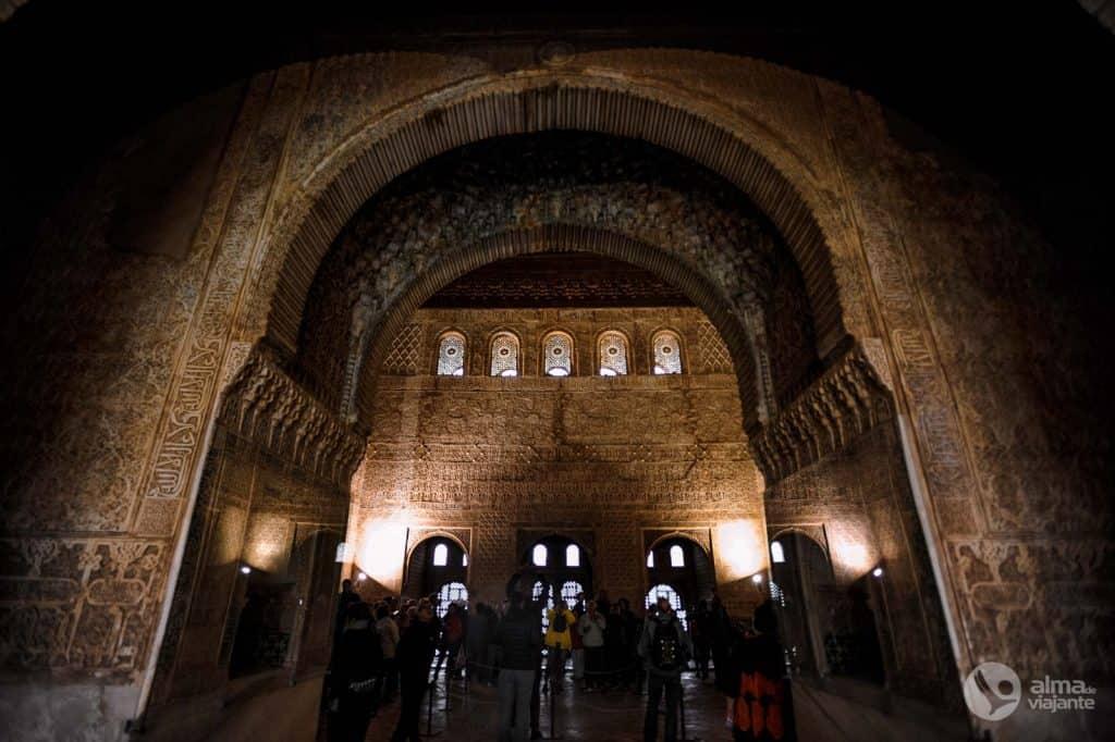 A nagykövetek csarnoka, Alhambra