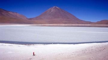 Salar de Uyuni, a planície de sal boliviana