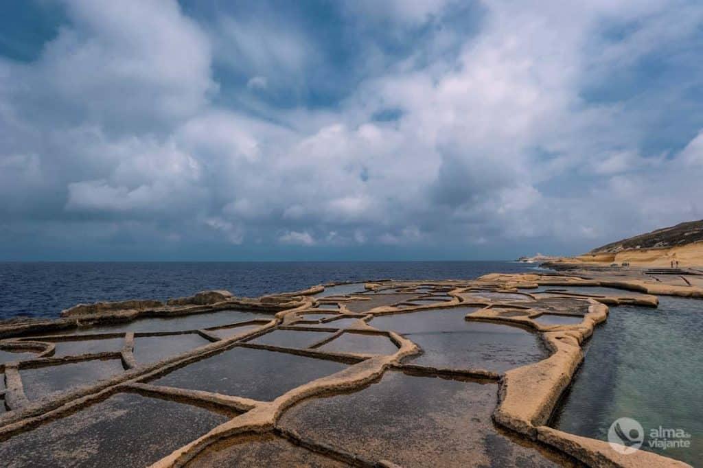 Salinas de Marsalforn, Gozo
