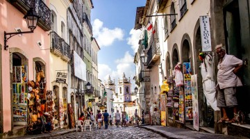 Heimsókn Salvador da Bahia: Pelourinho