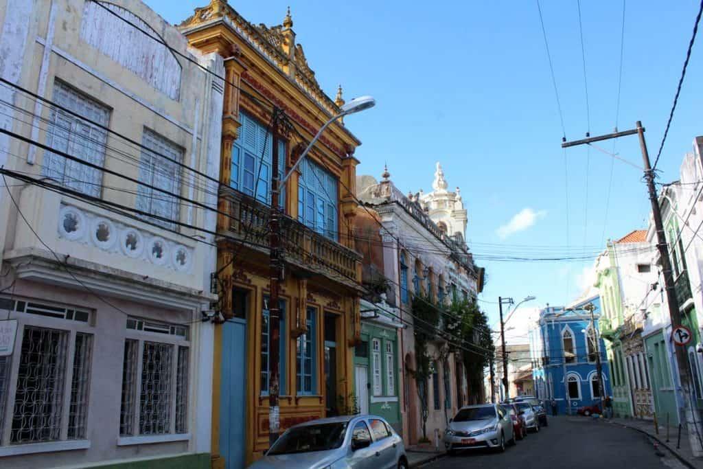 Bairro Santo António Além do Carmo, em Salvador