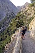 Trekking e caminhadas: Samaria, ilha de Creta, Grécia