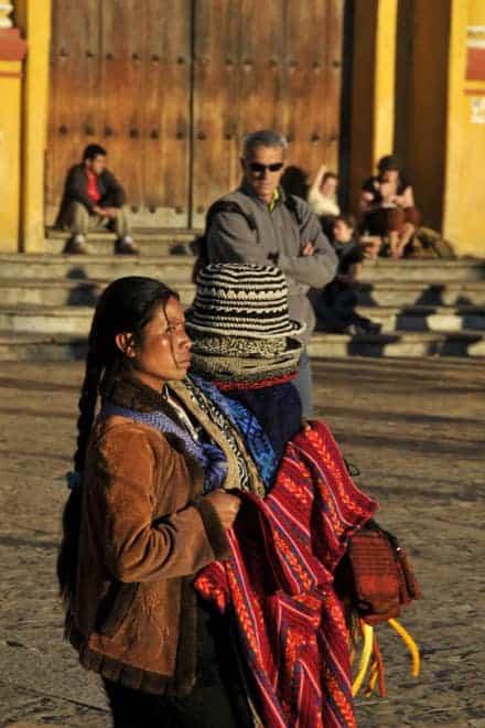 Vendedora Maia, San Cristobal de las Casas