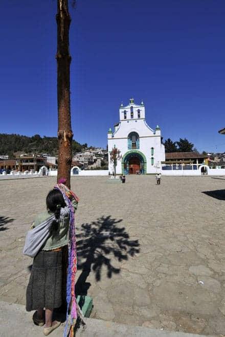 Igreja de San Juan Bautista, em San Juan Chamula