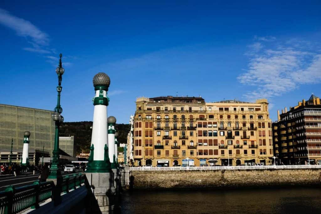Bairro residencial de Gros, em San Sebastián