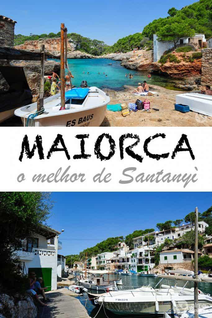 O melhor de Santanyì, na Costa Leste de Maiorca