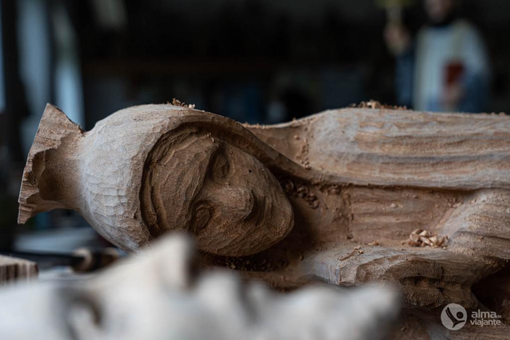 Arte sacra dos Santeiros do Vale do Coronado, Trofa