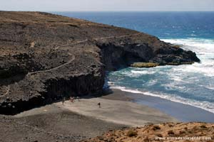 Cruzinha da Garça - praia