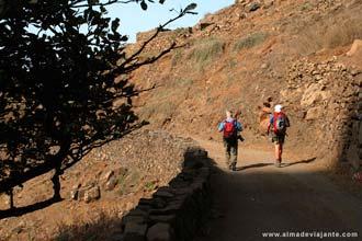 Trekking da Ponta do Sol às Fontainhas, ilha de Santo Antão