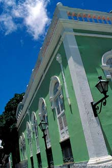 Viagem Lençóis: Fachada do edifício do Centro de Cultura Popular de São Luís do Maranhão
