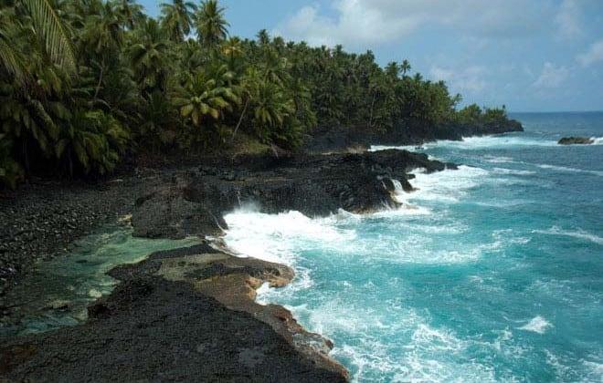 São Tomé, ilha léve-léve