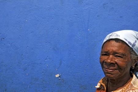 Maria, habitante de Água Izé
