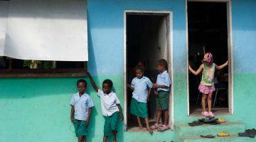 Saúde em viagem: crianças em Vanuatu
