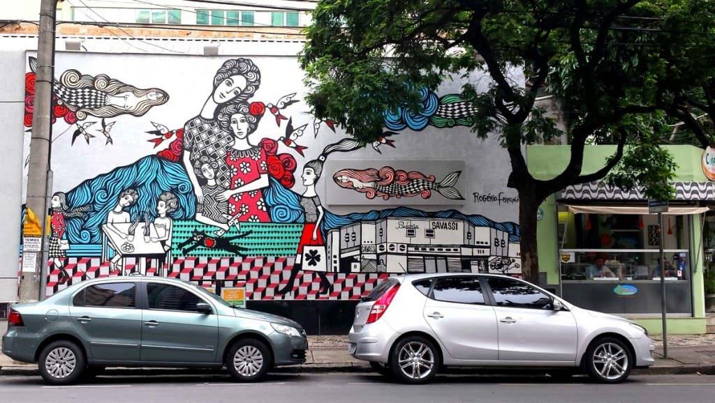Návštěva Belo Horizonte: Savassi