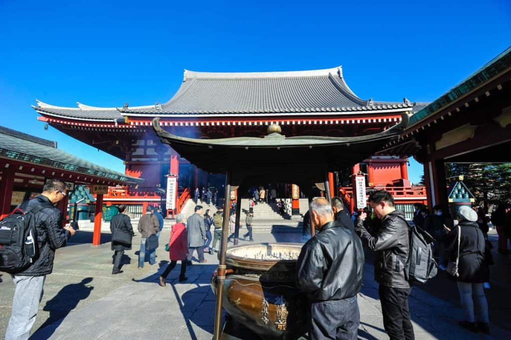 Templo Senso-ji, em Asakusa