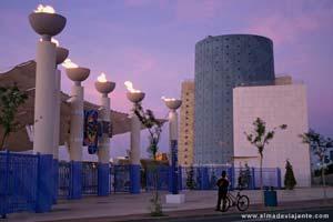 Isla Mágica de Sevilha, onde decorreu a Expo 92
