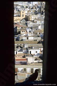 Vista do centro histórico de Sevilha