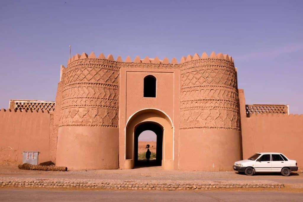 Caravanserai em Shafig Abad