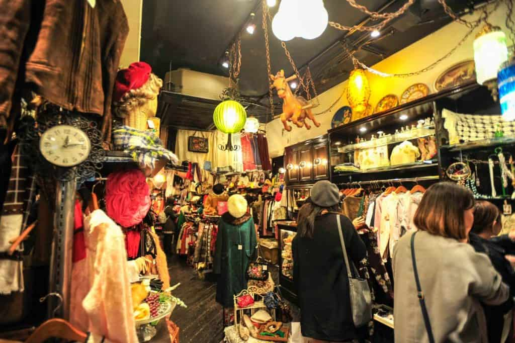 Loja vintage Tóquio