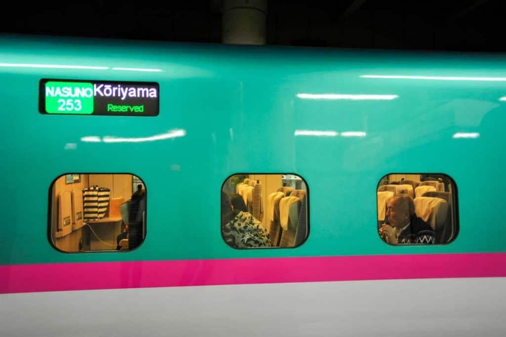 Trem Shinkansen