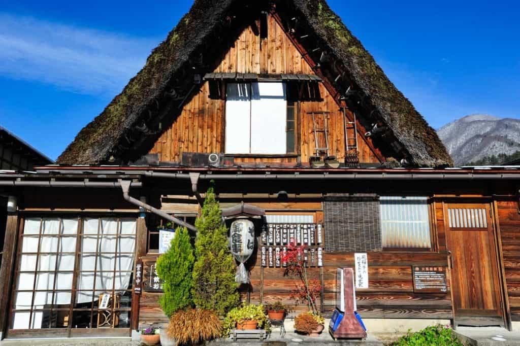 Casa gassho-zukuri em Ogimachi, Shirakawa-go