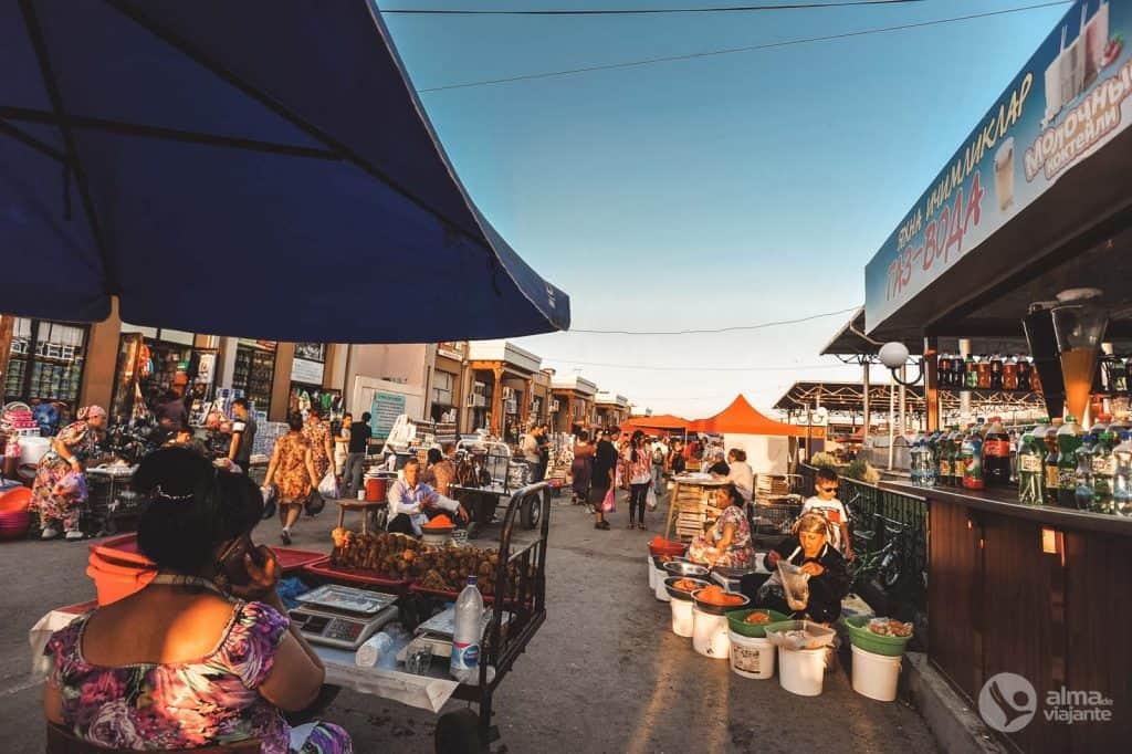 Mercado Siab, Samarcanda