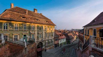 Sibiu, onde os telhados têm olhos