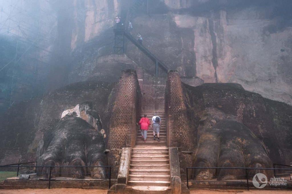 Leão de Sigiriya