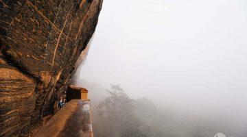 Por entre as brumas de Sigiriya