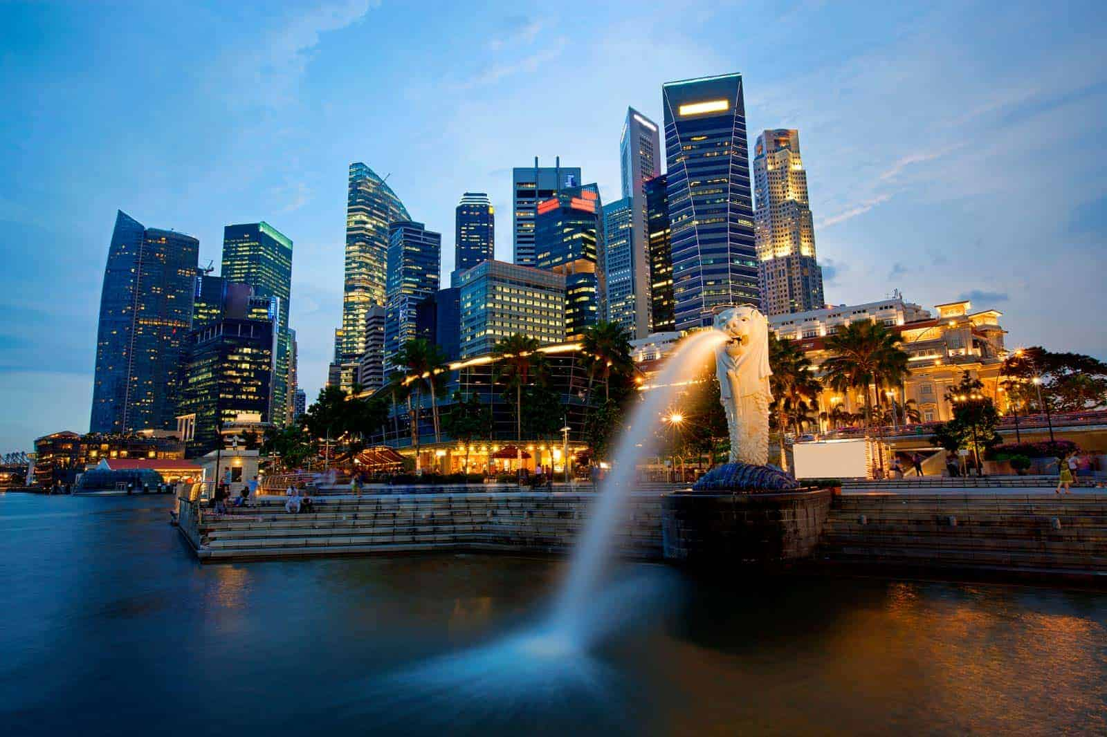 Skyline de Singapura