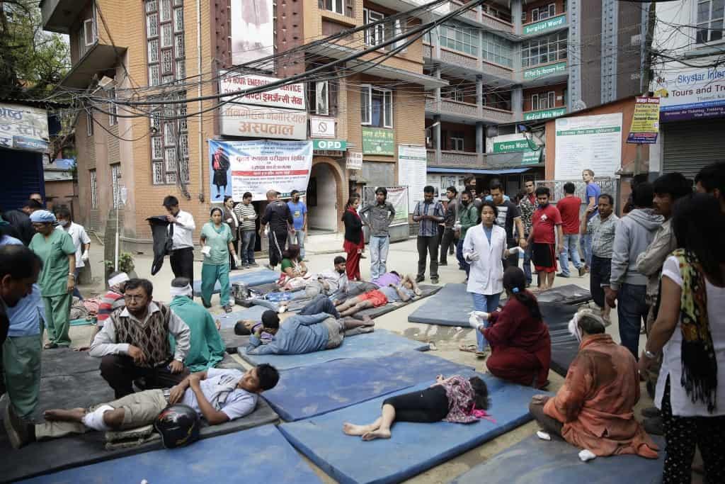 Sismo no Nepal