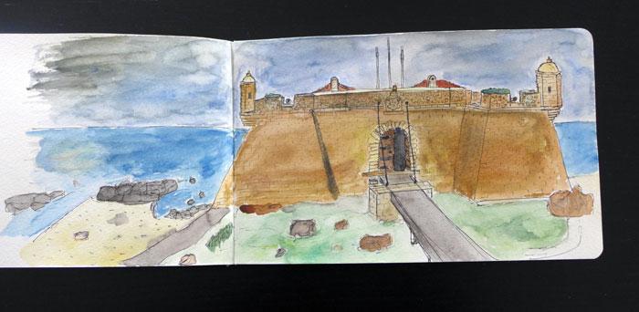 Sketch do Castelo do Queijo, Porto
