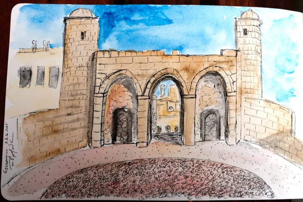 Desenho do forte português, Essaouira