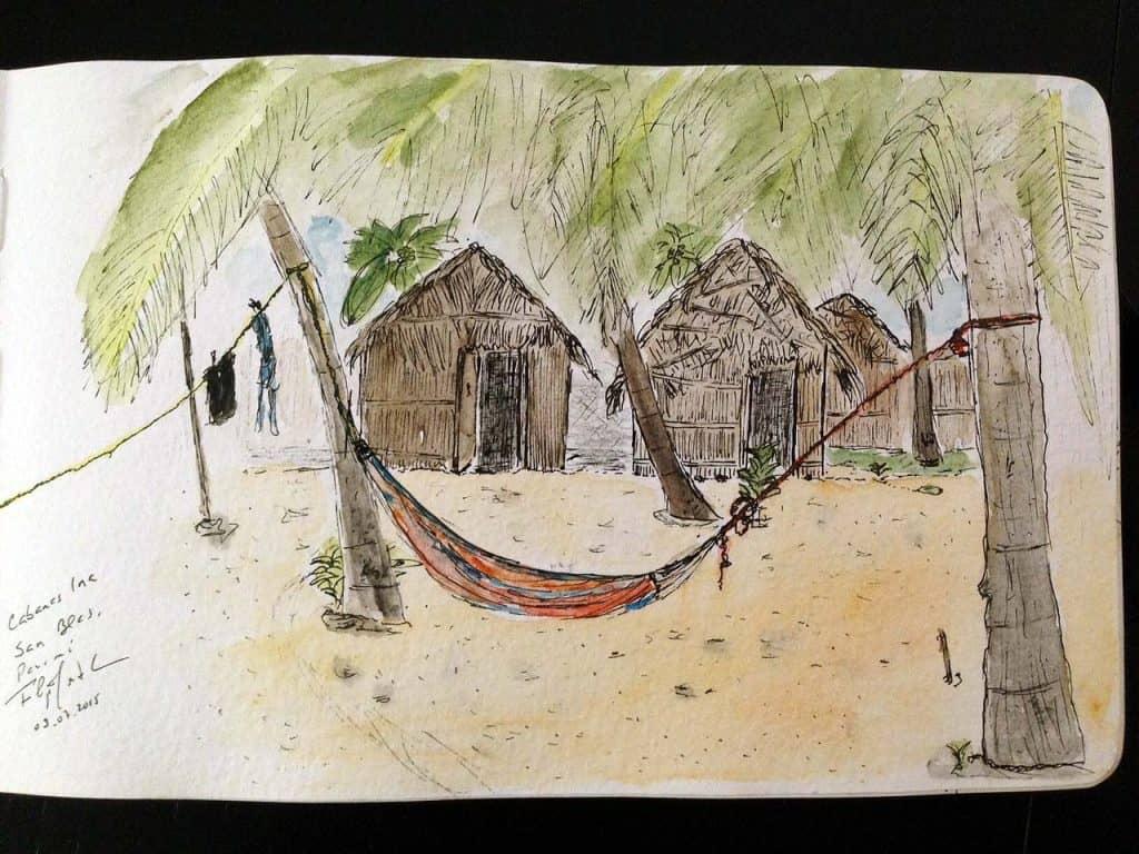 Sketch das Cabanas Ina, San Blás