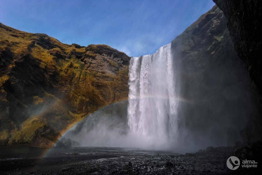 Skógafoss, Islandes dienvidu daļa