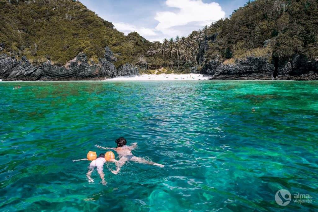 Snorkelling nas Phi Phi