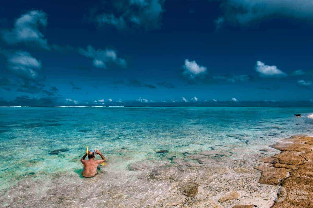 Snorkelling em Rarotonga, Ilhas Cook