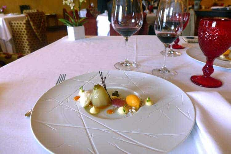 Sobremesa: beringela com doce de gelado e de abóbora